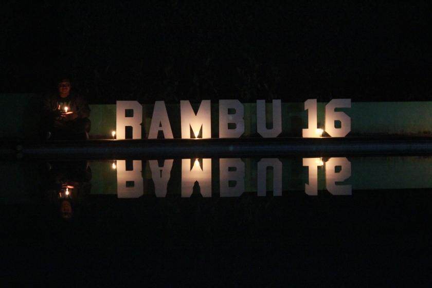 Properti RAMBU 2016 untuk Welcoming Party